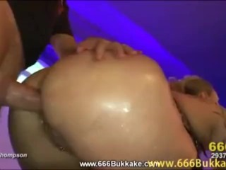 Yvette in a piss drenched fuckfest