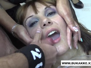 Michelle's First large cum Flood Swallow
