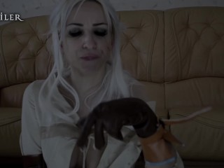 Ciri. plowed by magic. KsuColt. Cosplay, Horse, DP, creampie, FuckMachine.