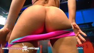 Charlies sweet Ass Pussy Oiled and Penetrated in Threesome