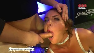 Super Busty MILF Sexy Susi gets her massive tits Creamed - GGG