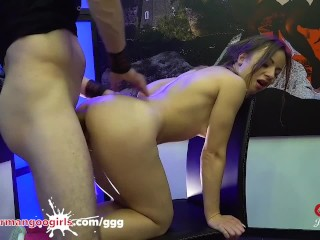 Lilit Sweet's big Facial Creaming and Anal - German Goo chicks