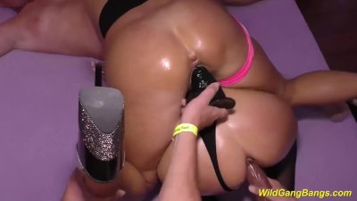 german groupsex orgy with busty oiled milfs