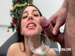 Sperm Drink For Crazy Whore
