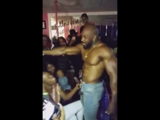 Cheating ex-wife swallows Strippers dick At Party