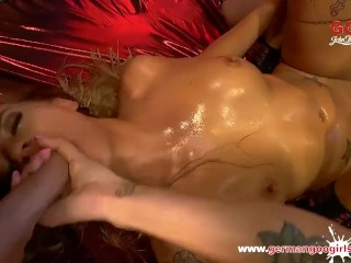 German Goo bitches - Silvia Dellai Mouthful of sperm