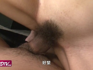 [OURSHDTV][中文字幕]Graceful woman Rino Asuka threesome creampied uncensored