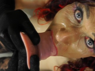 #32 Trailer–The Domina Cum-Slut lets you FEEL what she feels – until she is CUM-COVERED! • BeingBoth