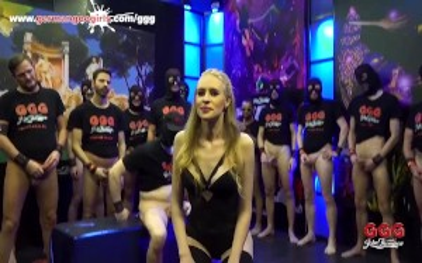 Nikki Riddle Hardcore Trailer For Bukkake Gangbang GGG scene