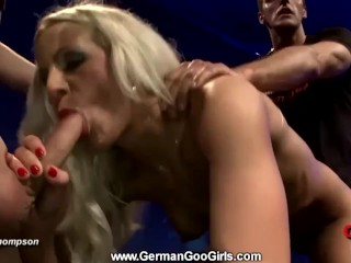 Alicia swallows a meat and sexed hard - GermanGooGirls