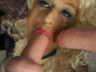 #33 Trailer–Domina CUM-SLUT turns audition into a DEEPTHROATING cock- and cum-feast! • Being Both