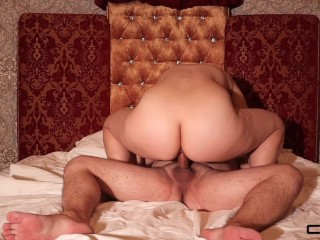 Licked his behind. He fucked me and spunk in my mouth. rimming. Cumshot. Home sex