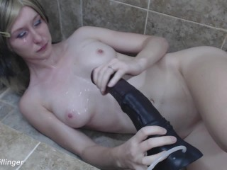 v144 COVERED By  sperm In Shower *OLD VIDEO* NEWER VIDS IN FULL HD
