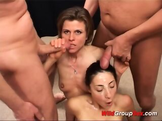 young And Stepmom In nasty Groupsex Orgy