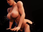 Perfect Curvy Body Babe Fucking with Big Cock Beast | 3D Porn